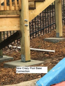 New crazy pool base conn
