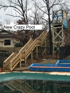 New crazy pool front